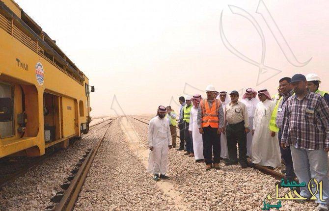 نقل مسار الخط الحديدي خارج النطاق العمراني بالأحساء