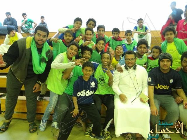 ثانوية الإمام النووي تقيم مهرجان التميز الترويحي