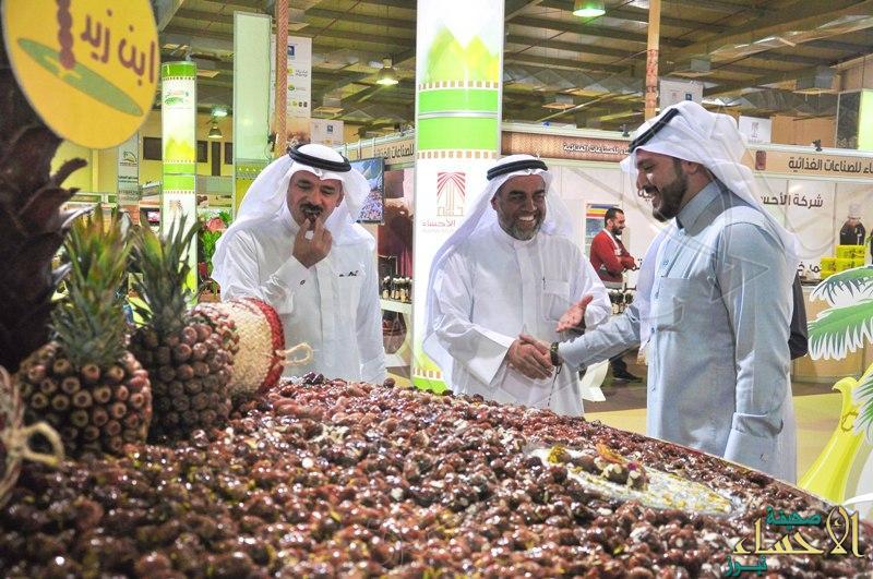 أولى صفقات مهرجان تمور الأحساء تذهب إلى الكويت بمبلغ 5.5 مليون ريال