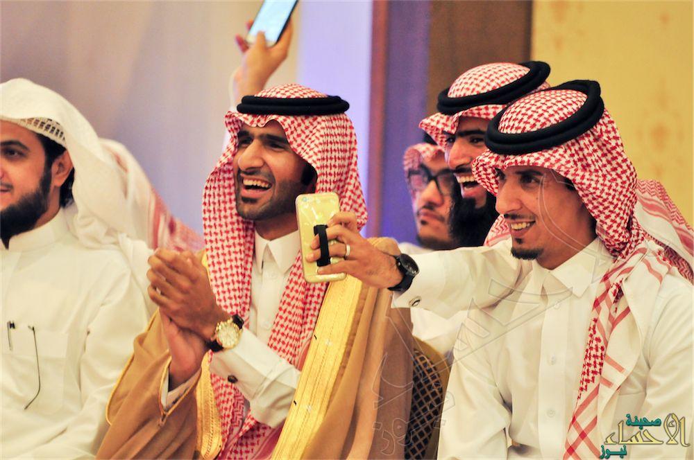 """بالصور… الأحساء تُكرم ابنها نجم برنامج زد رصيدك 4 """"عبدالرحمن المالكي"""""""