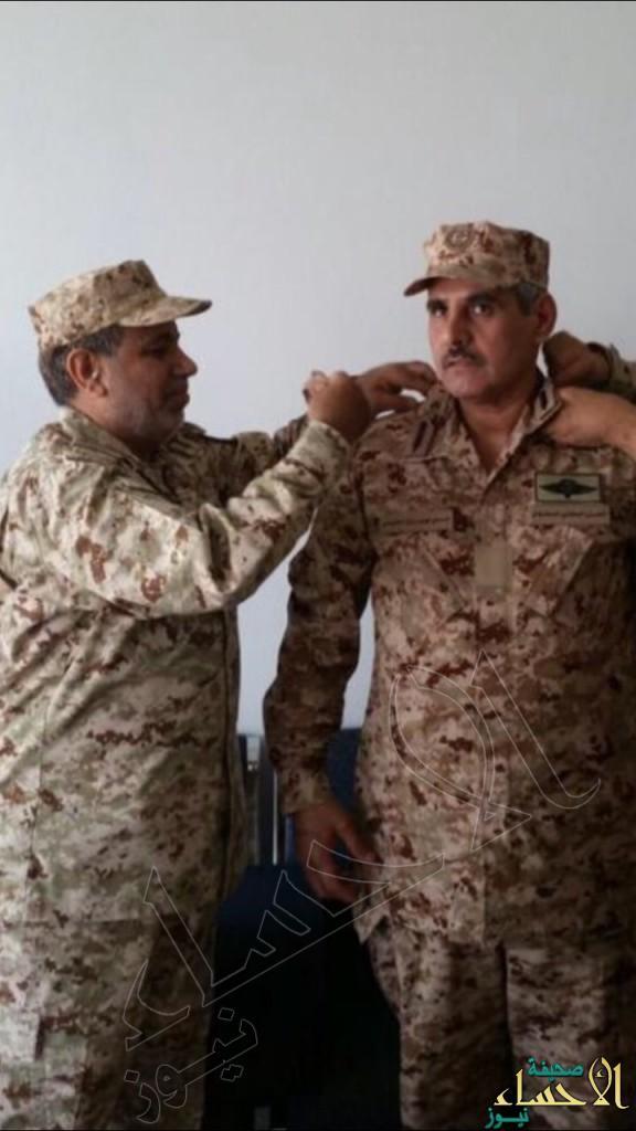 """الأمير محمد بن عبدالعزيز يهنئ  اللواء """"العتيبي"""""""