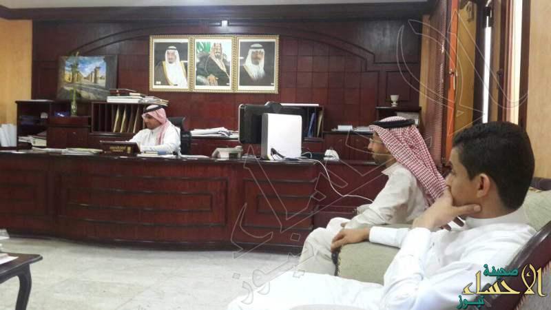 إدارة الزواج الجماعي بالعمران يقومون بزيارة لبلدية العمران