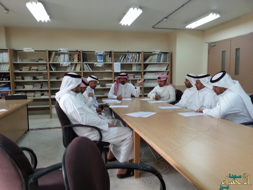 لجنة التميز و الجودة بمدرسة الأنصار تبدا أعمالها