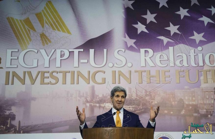 بالخطأ من مؤتمر مصر الاقتصادي… جون كيرى: لابد أن نسعى لأجل مستقبل إسرائيل