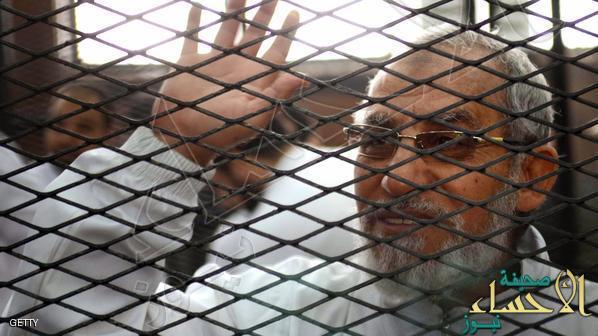 """مصر… الإعدام لمرشد الإخوان و 13 آخرين في قضية """"عمليات رابعة"""""""
