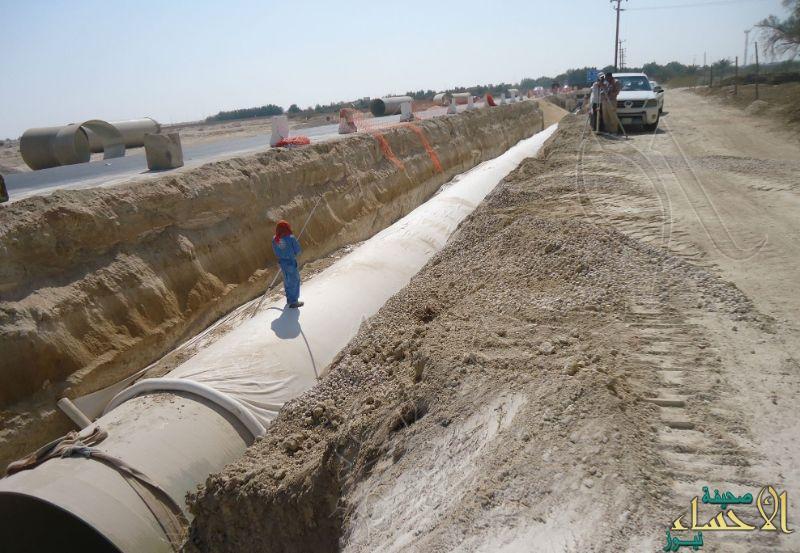 """بتكلفة تجاوزت 33 مليون ريـال.. عقود جديدة لمشاريع المياه والصرف الصحي بـ""""الشرقية"""""""