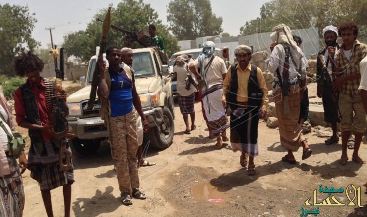 المقاومة الشعبية تلقى القبض على ضابطين إيرانيين يقودان عمليات للحوثيين