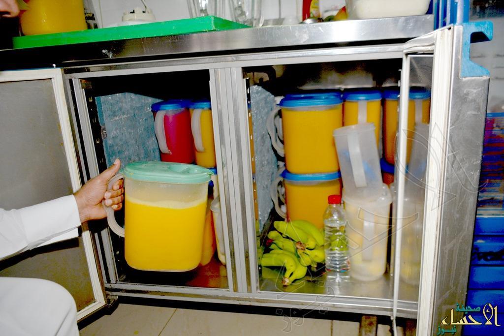تخزين وتحضير اغذية بطرق غير صحية