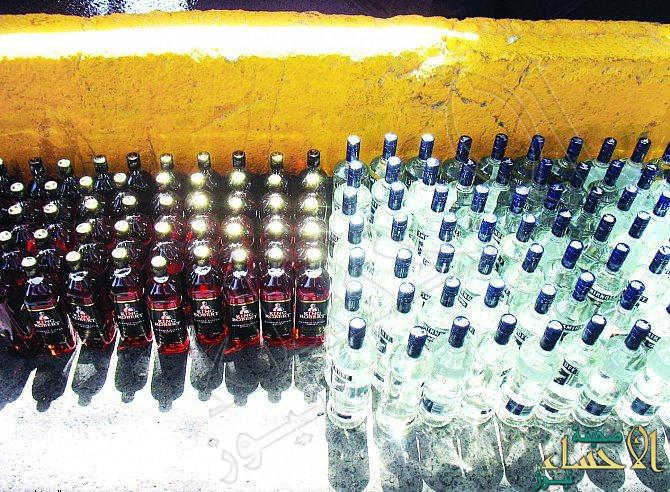 جمرك البطحاء: إحباط تهريب 4771 زجاجة خمر للمملكة