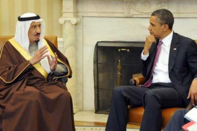 أوباما يُطلع خادم الحرمين على فحوى اتفاق الدول الكبرى مع إيران بشأن ملفها النووي