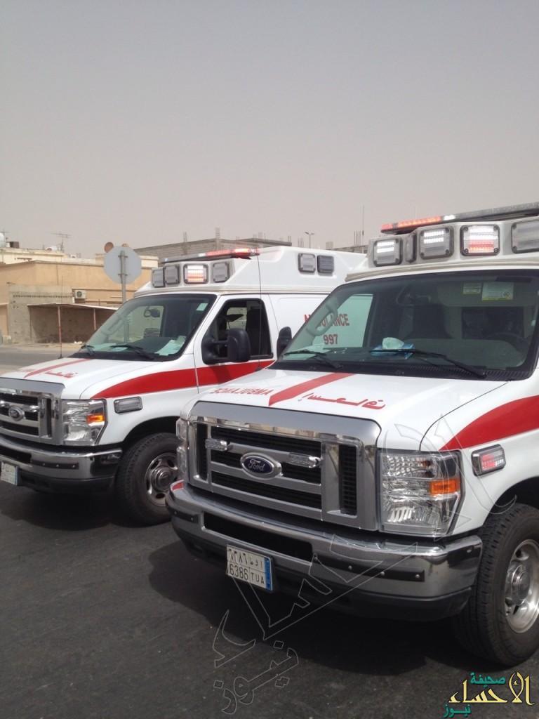 """103 بلاغ إسعافي تلقاها """"هلال"""" #الأحساء خلال العيد"""