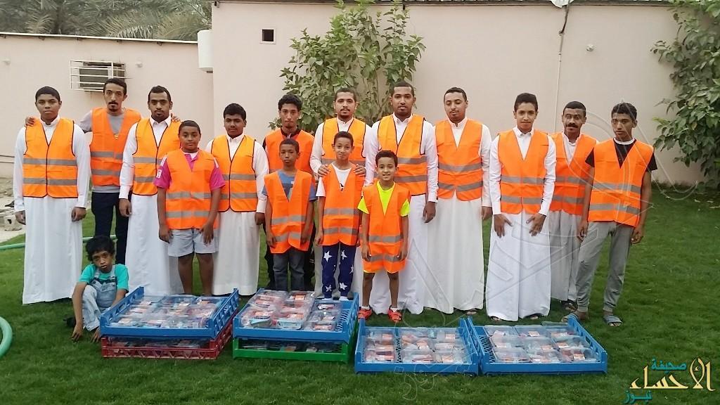 """فريق """"الشويهين"""" التطوعي يختتم مشروع إفطار الصائم على الطريق الزراعي"""