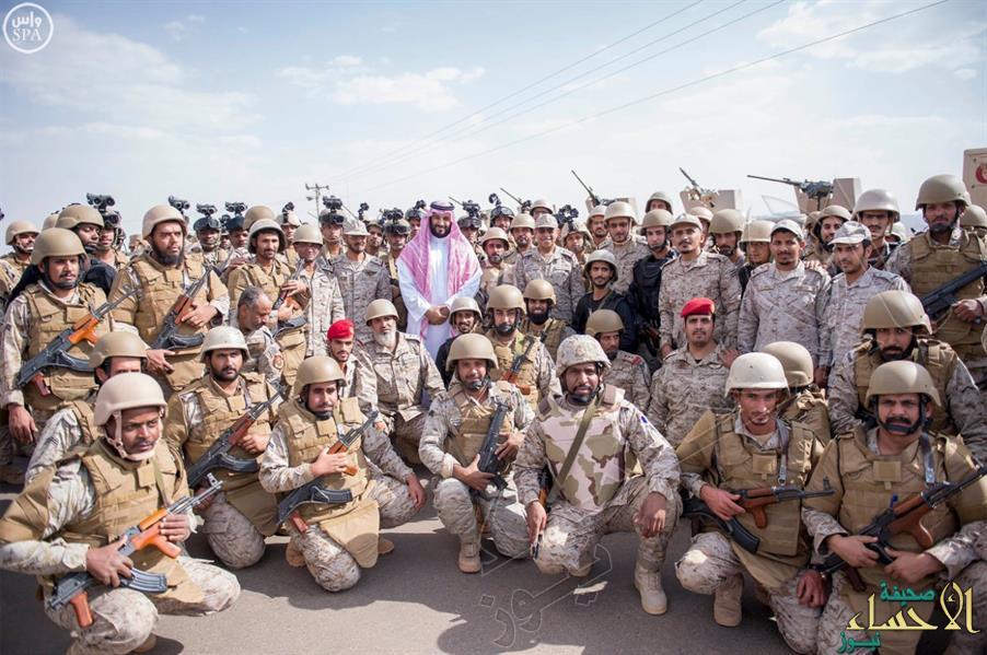 بالصور.. محمد بن سلمان يعايد مرابطي الجنوب ويتفقد الوحدات المتقدمة