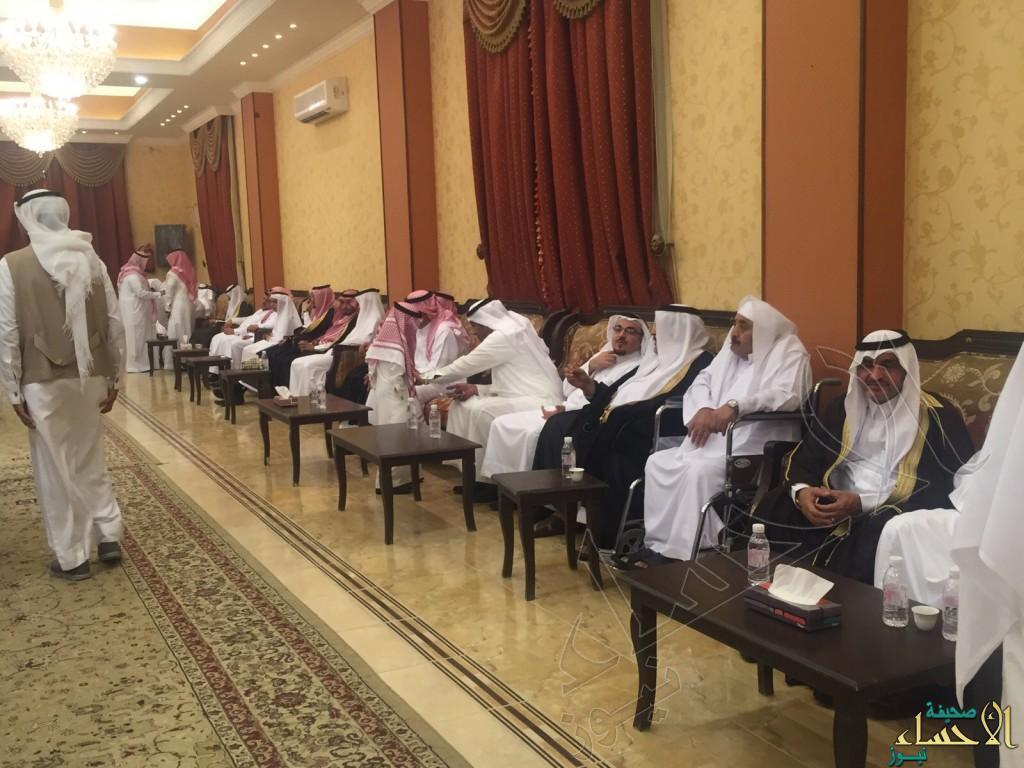 أسرة السماعيل تستقبل المهنئين بالعيد السعيد