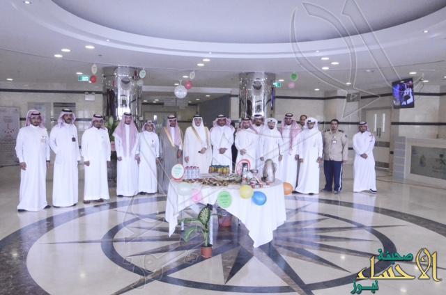 """""""البراك"""" يعايد مرضى مستشفى الأمير سعود بن جلوي (الجديد) بعيد الفطر السعيد"""