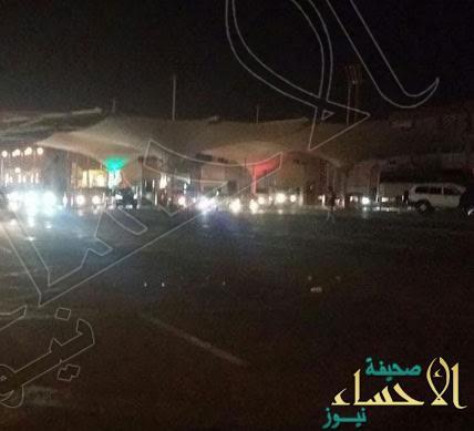 انقطاع الكهرباء عن جسر الملك فهد