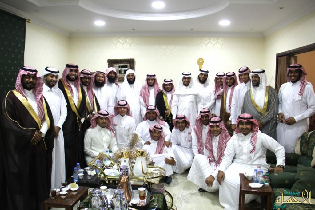 بالصور… الشيخ محمد المقهوي يستقبل المهنئين بمناسبة عيد الفطر المبارك
