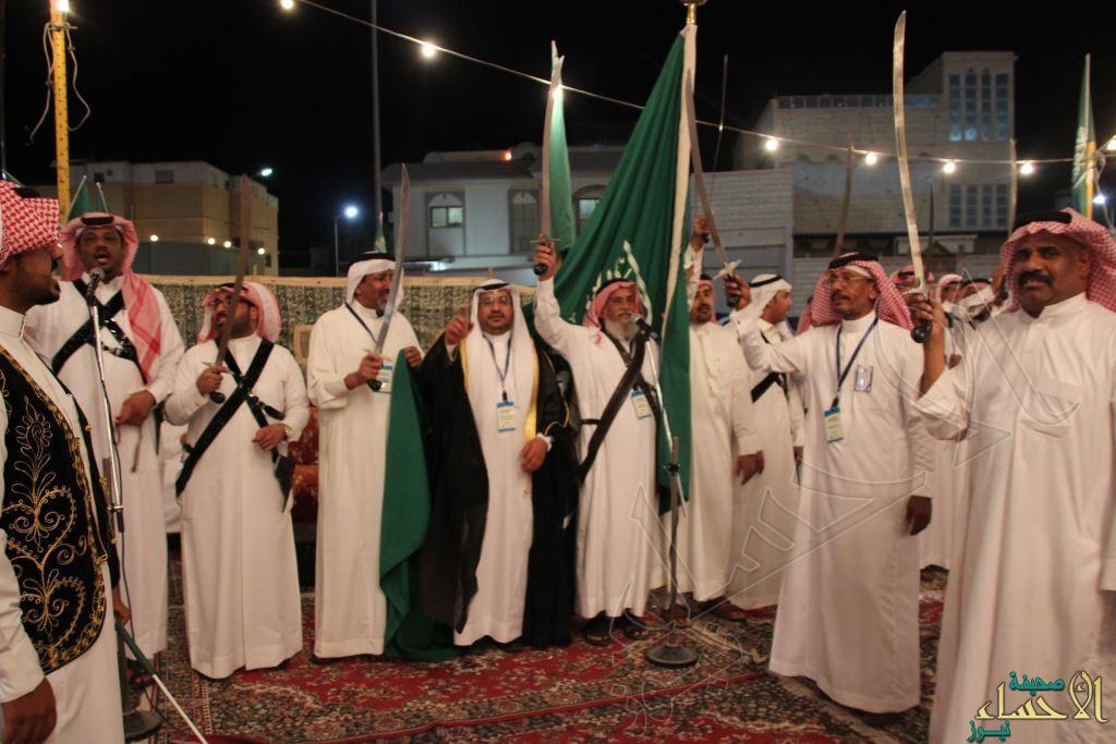 """مجلس آل """"علي الفضلي"""" يقيم حفل أهالي المراح بالتعاون مع """"فنون"""" #الأحساء"""