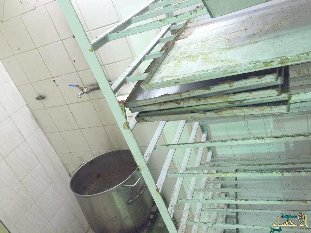 """إغلاق وإنذار 184 منشأة صحية مخالفة بالهفوف وإتلاف 560 كلغ """" أغذية فاسدة"""""""