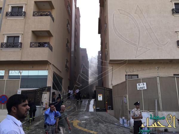 حريق أبراج الخبر يقضي على 11 قتيلاً وأكثر من 200 جريح