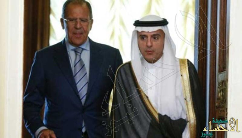 """مصور""""رويترز"""" يكشف: هل قال وزير الخارجية الروسي ألفاظ خارجة أثناء مؤتمره مع """"الجبير"""""""
