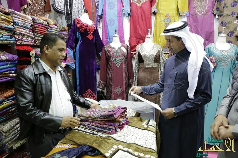 بالصور.. العمل: ضبط  7127 مخالفة لقرارات تأنيث المحلات النسائية في عام