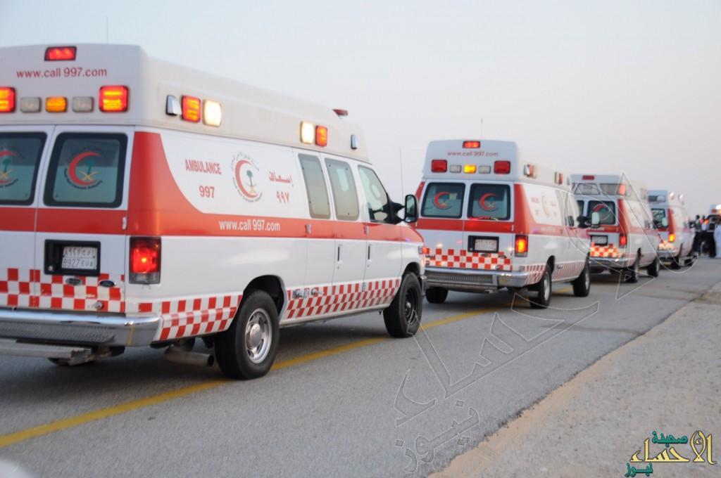 """وفاة وإصابات خطرة في حادث مروع على طريق """"الجشة / العقير"""