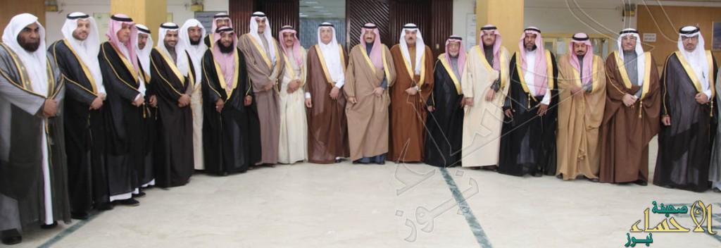 سمو محافظ الأحساء يستقبل أعضاء المجلس البلدي الجديد