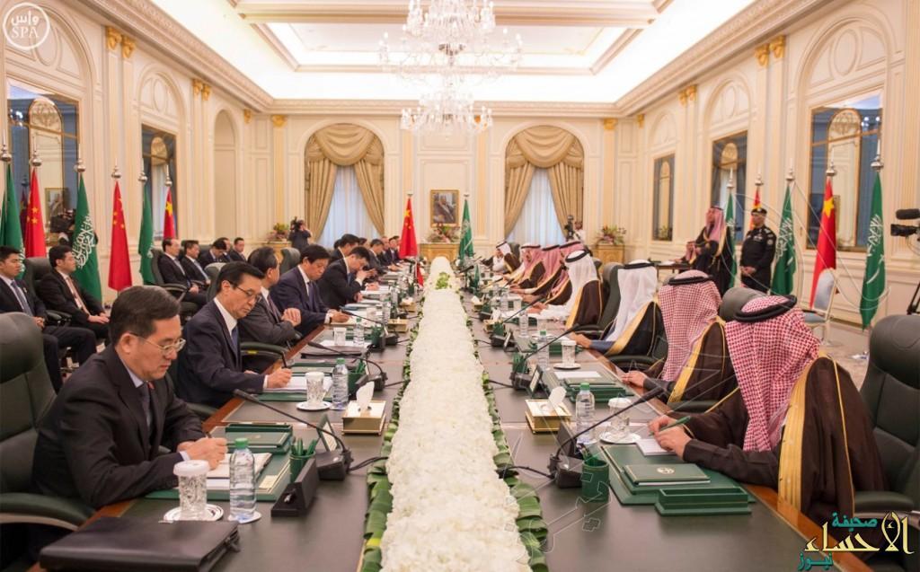 خادم الحرمين: المباحثات السعودية الصينية اليوم تهدف لإحلال السلم في المنطقة