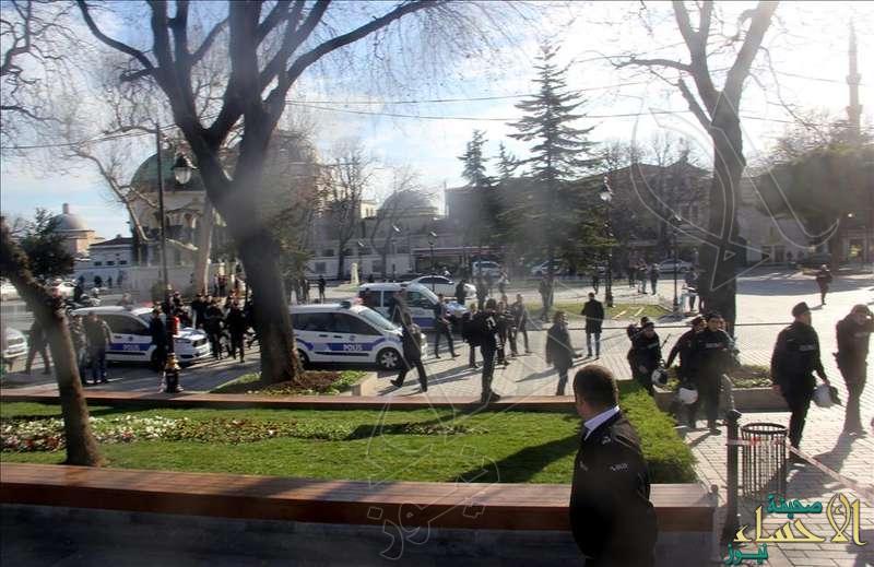 """""""الصحة"""" التركية: سقوط 10 قتلى و15 جريحاً في انفجار إسطنبول"""