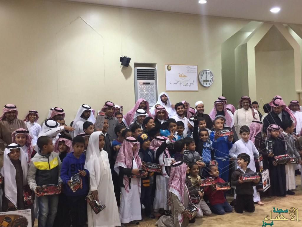 حلقة عبدالله بن عامرتكرم أكثر من 150مشارك