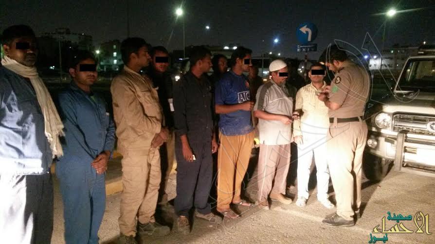 شرطة المنطقة الشرقية تضبط 29027 مخالفا لنظام الإقامة والعمل