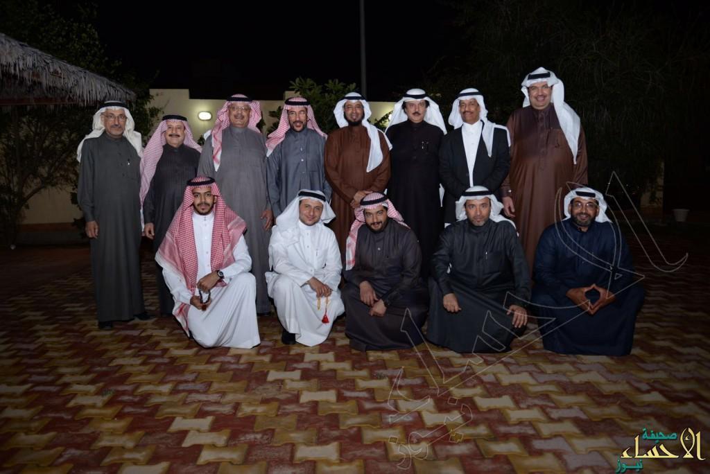 عدد من إعلاميي الرياض في ضيافة النجيدي