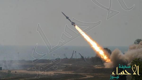 التحالف العربي يعترض صاروخا بالستيا للميليشيات أطلق نحو مأرب