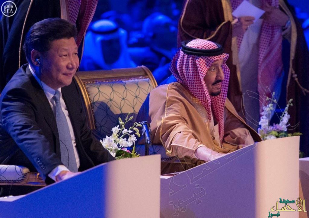 """بالصور.. خادم الحرمين الشريفين ورئيس جمهورية الصين يدشنان مشروع """"ياسرف"""""""
