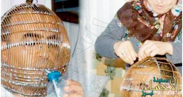لهذا السبب .. سيدة تحبس رأس زوجها في قفص حديدي