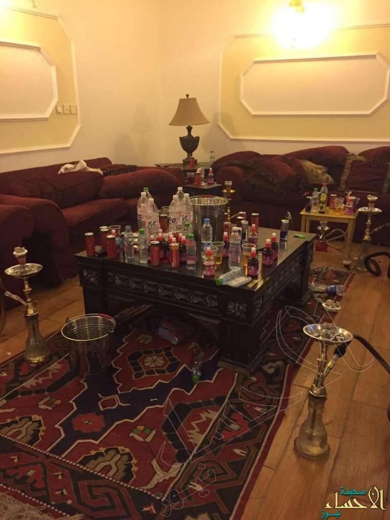 """شاهد: ضبط حفلة ماجنة ومرقص بالطائف.. 21 فتاة وشاباً مخمورون و""""سناب"""" يبث!"""