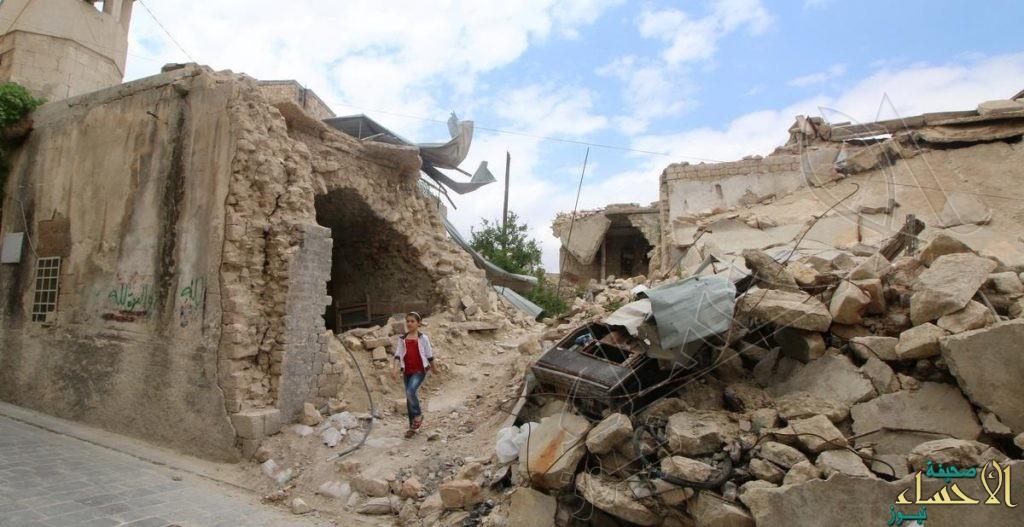 """""""غارات روسية"""" تفتك بالمدنيين في ريف حلب"""