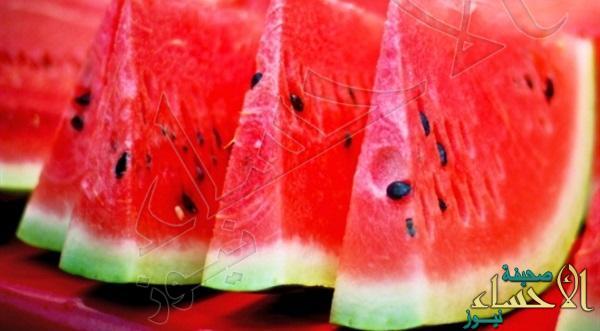دراسة: البطيخ يقي من السرطان والسكري