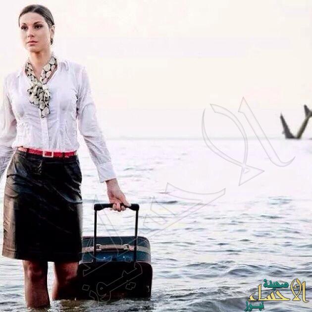 """مضيفة مصر للطيران تحققت نبوءتها وماتت """"غرقا"""" .. تعرّف على القصة !"""