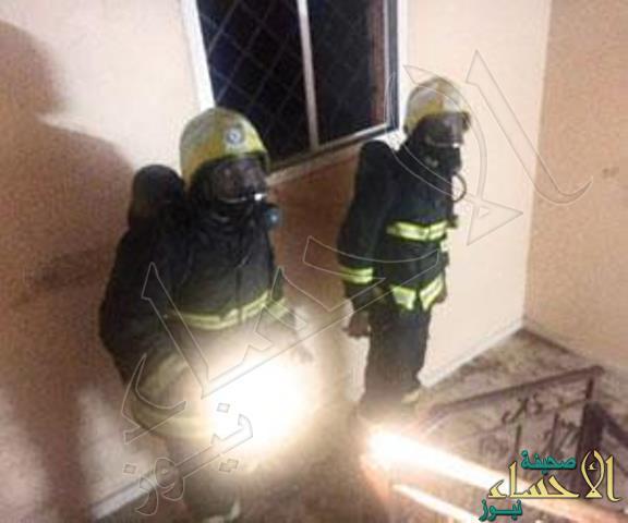 مواطنه تشعل النار في منزلها بعد علمها بزواج زوجها بأخرى !