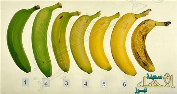 فوائد الموز تكمن في مراحل نضجه!!!