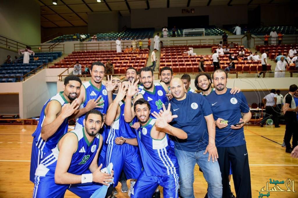 """بالصور.. #الفتح """"يدبّلها"""" ويحصد كأس الاتحاد السعودي لكرة السلة"""