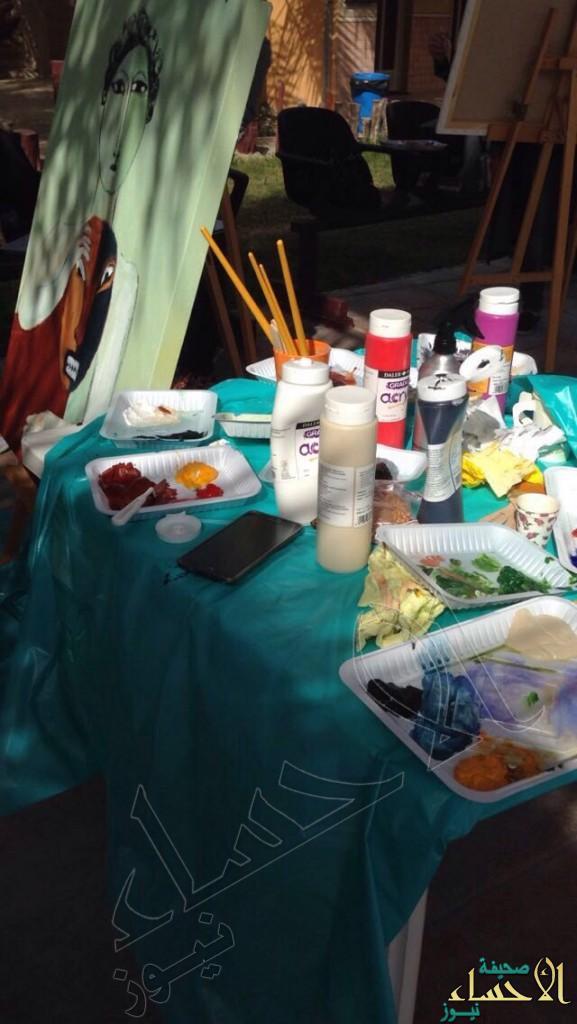 أكثر من ٢٠ فعالية ومعرض جماعي للفنانات التشكيليات بفنون #الأحساء