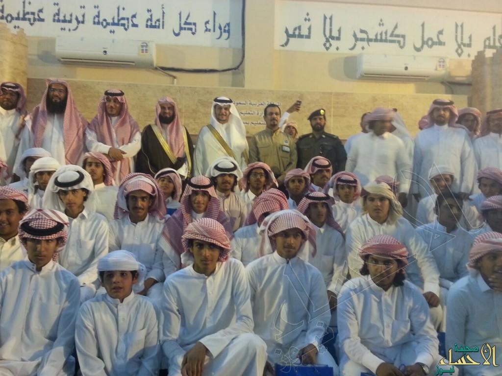 بالصور.. مدارس الهجر الجنوبية تحتفي بتخرج طلابها