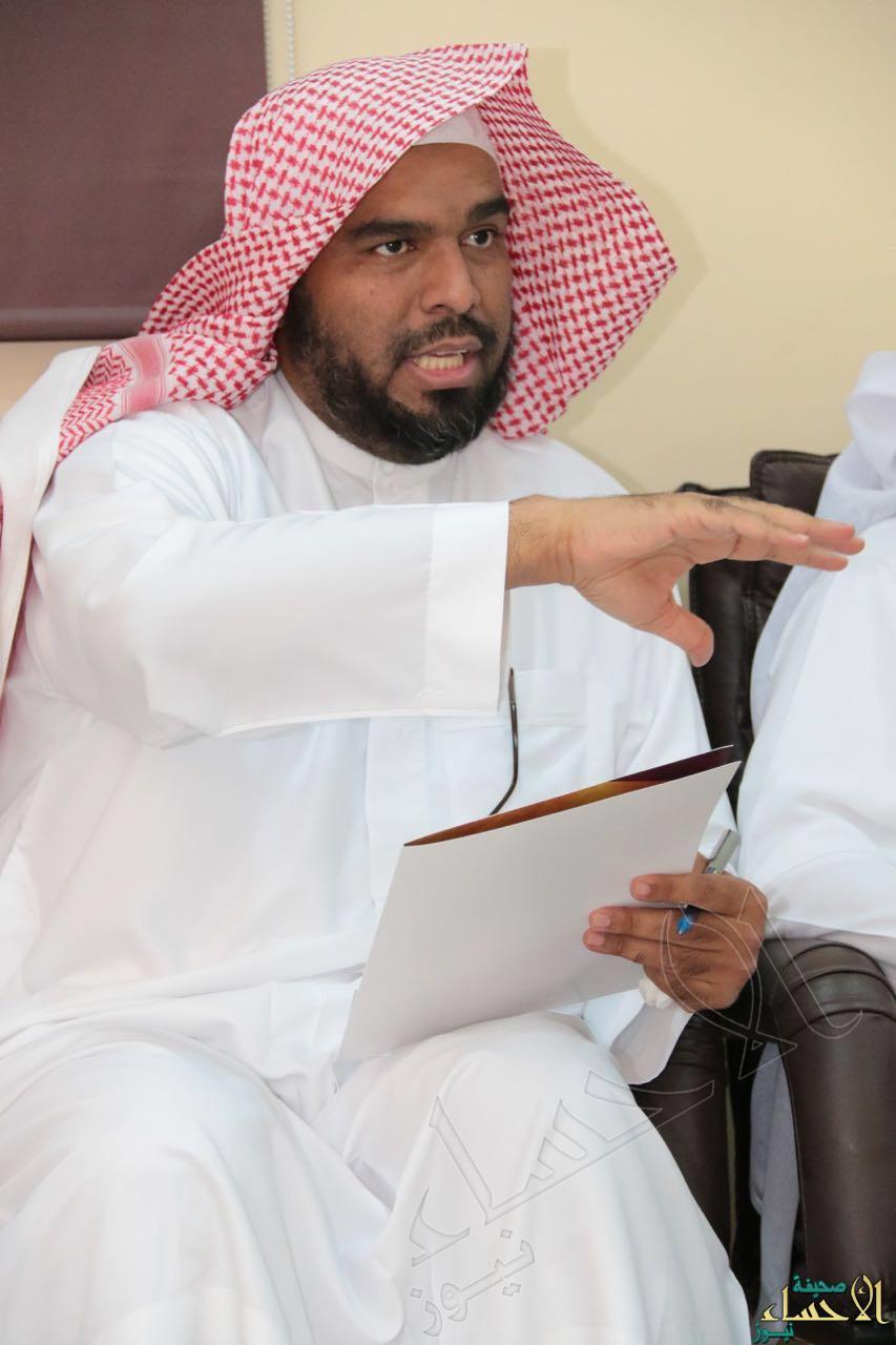 مدير إدارة التدريب في صحة الالحساء محمد العمر