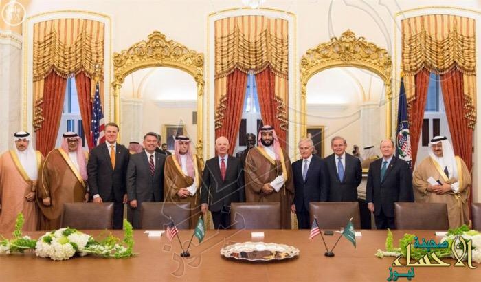 """ولي ولي العهد يلتقي رئيس """"النواب الأمريكي"""" ورؤساء اللجان بمجلسي الشيوخ والنواب"""