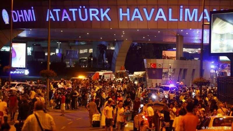 حصيلة تفجيرات مطار أتاتورك ترتفع لـ 38 قتيلاً وأكثر من 147 جريحاً