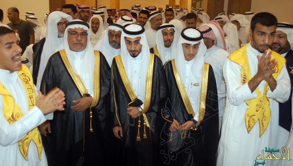 جانب من مراسم الزفاف العريس عباس الغزال