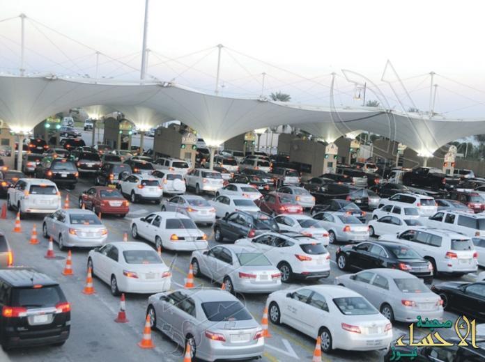 """#جسر_الملك_فهد يستعد لأعداد المسافرين والمتنزهين خلال """"عيد الأضحى"""""""